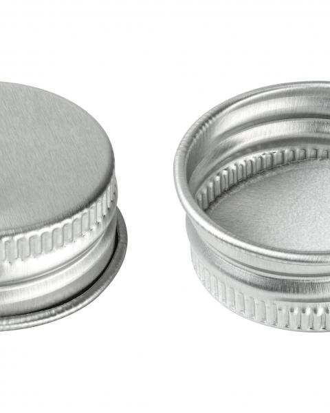 Metal and Aluminum caps