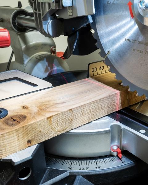 Wood building material