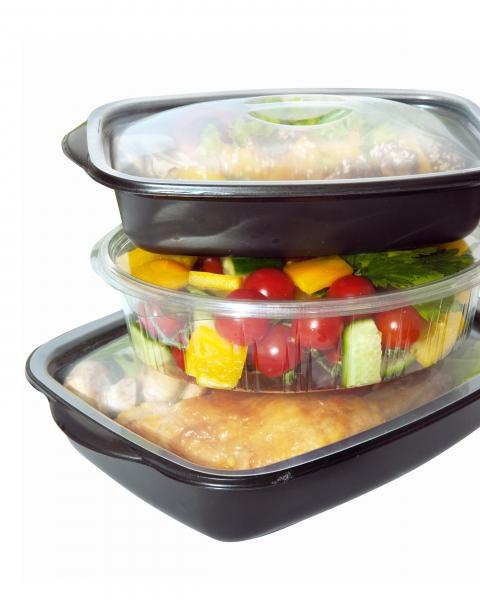 塑膠食用容器